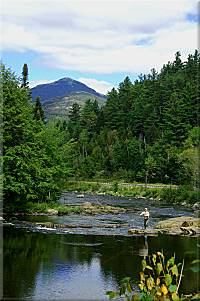Fishing the Ausable River